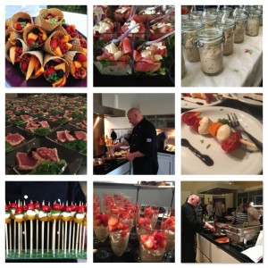 Walking dinner, Zoetermeer, Catering